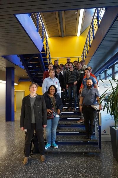 Ausflug mit dem IT Crowd Club Liechtenstein ins Swisscom Datacenter Zürich-Herden