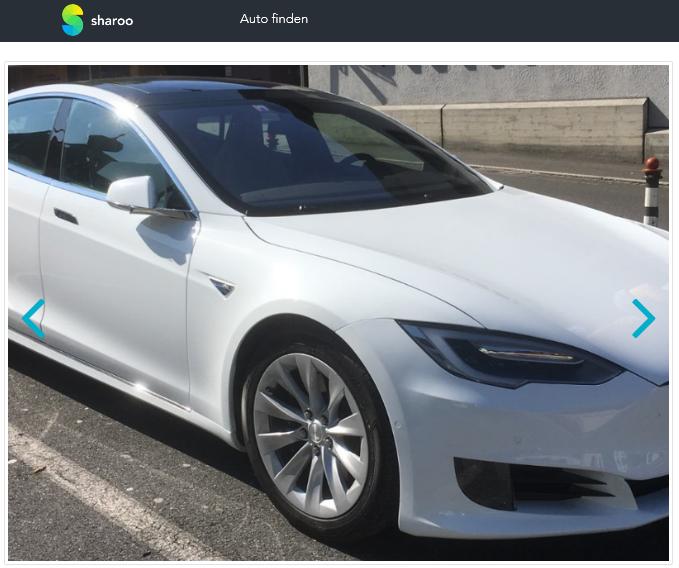 Tesla Model S75D mieten auf Sharoo