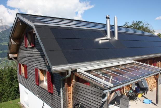 Dachsanierung mit Indach Photovoltaik-Anlage